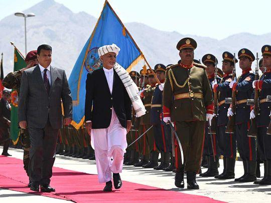 Afghan  Ashraf Ghani