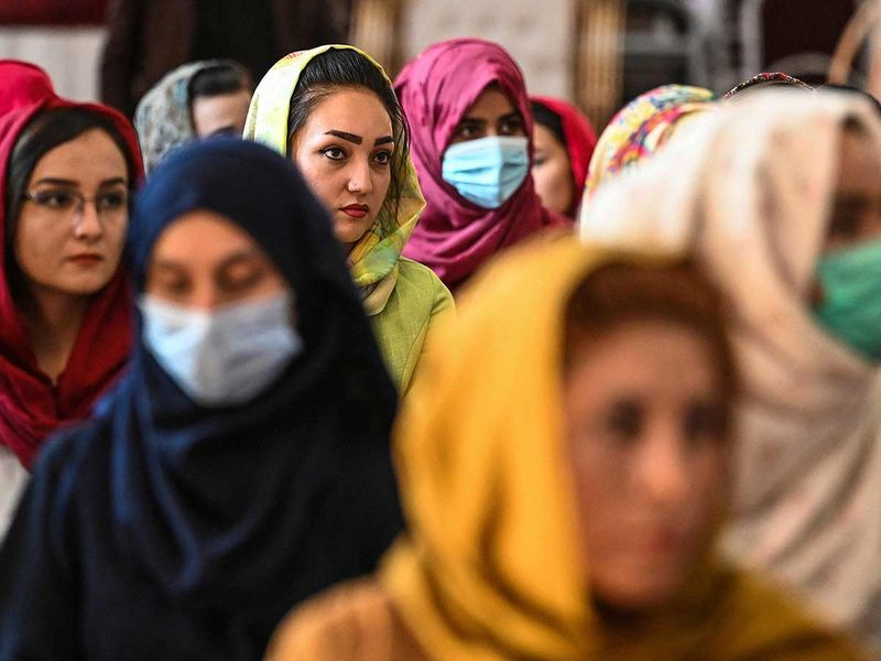 Afghan women kabul