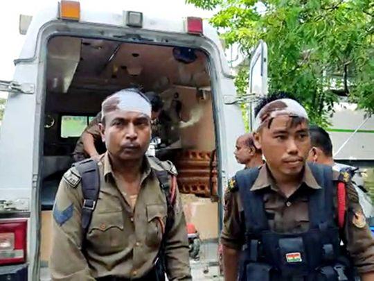 Assam Mizoram police border