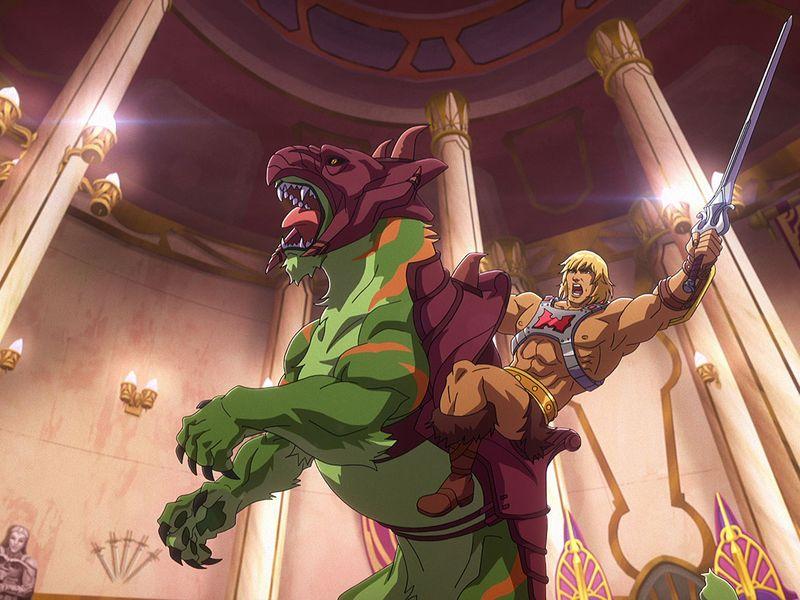 He-Man with Battlecat