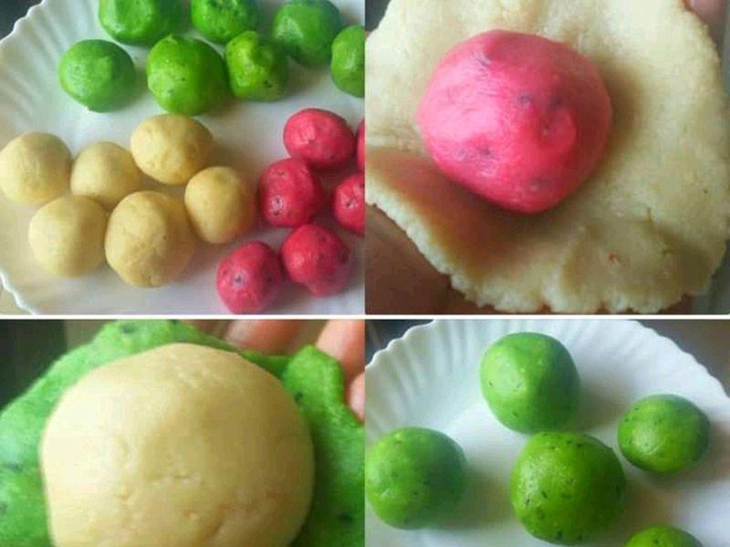 Indian dessert Kaju burfi