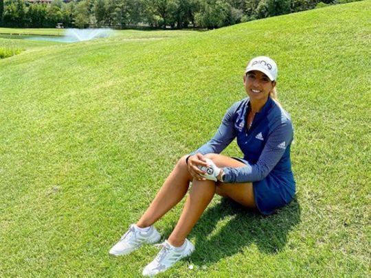 Ladies European Tour star Maha Haddioui