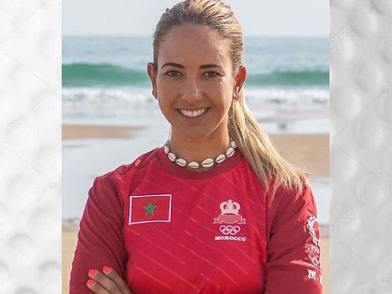 Maha Haddioui will represent Morocco at the Olympics