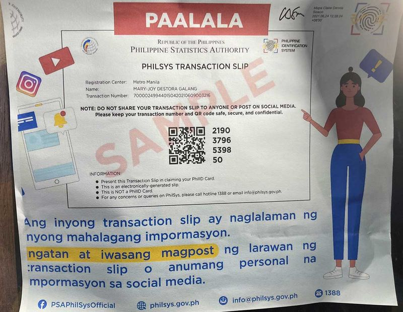 PhilSys ID system