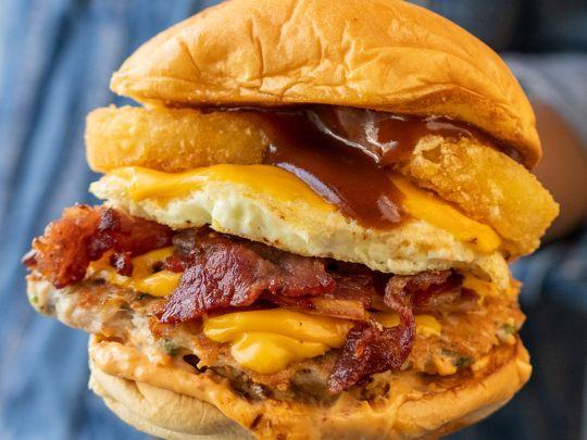 Pickl Breakfast Burger