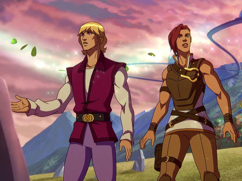 Prince Adam with Teela