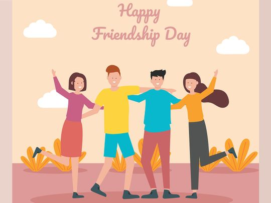 Stock Friendship day