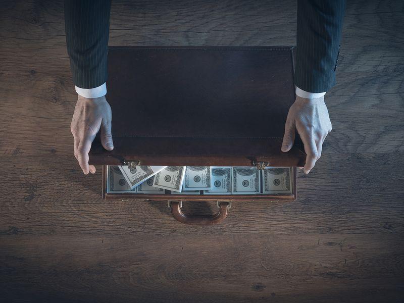 Stock Money laundering