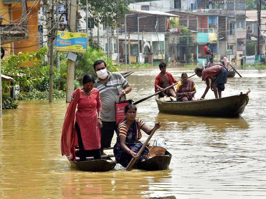 Bengal floods india rain