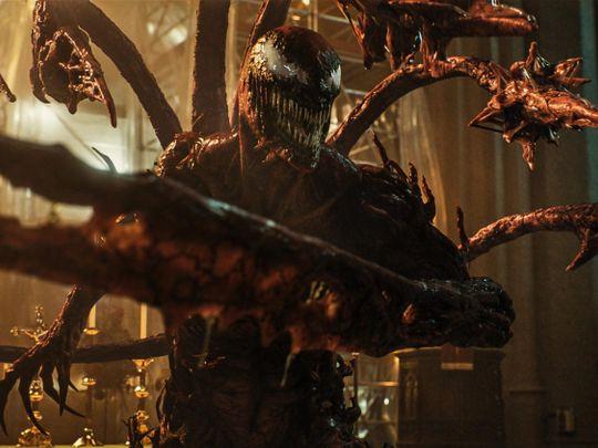Woody Harrelson as Carnage in Venom 2-1627972096502
