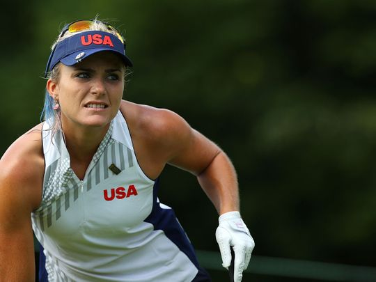 Lexi Thompson of the United States