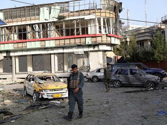 Afghan attack kabul blast