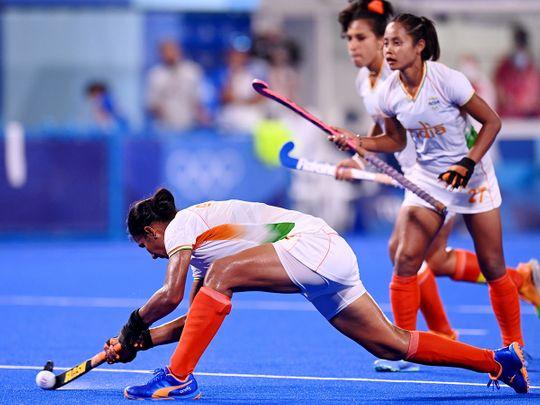 Olympics hockey - India vs Argentina