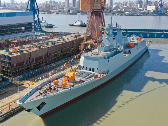 Pakistan navy frigate