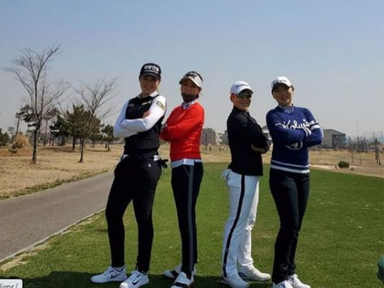 South Korean golf is at the top of the game