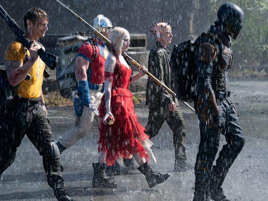 The Suicide Squad - Margot Robbie; Peter Capaldi; Idris Elba; John Cena; Joel Kinnaman