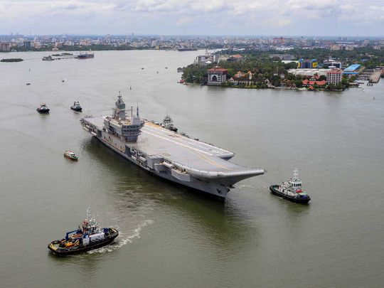 Vikrant aircraft carrier india navy