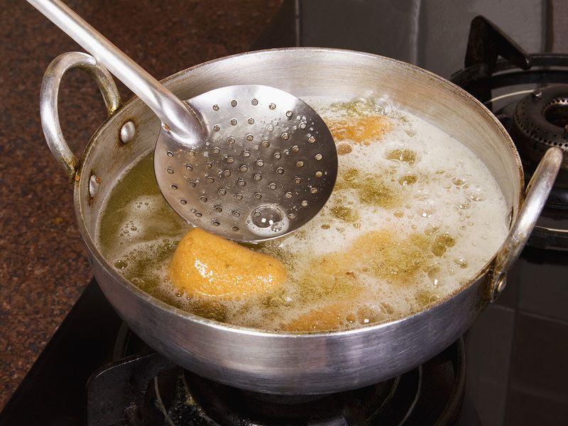 Deep-frying
