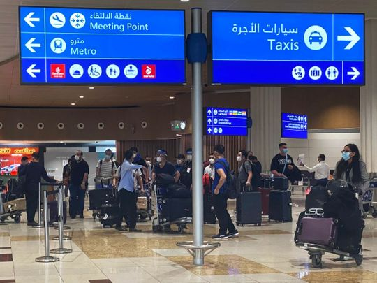 India-UAE flight brings first batch of stranded UAE residents back to Dubai