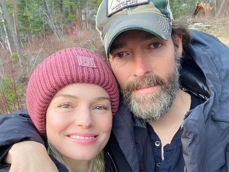 Kate Bosworth and husband Michael Polish