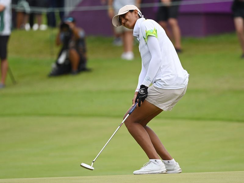 Aditi Ashok missed out at the Olympics