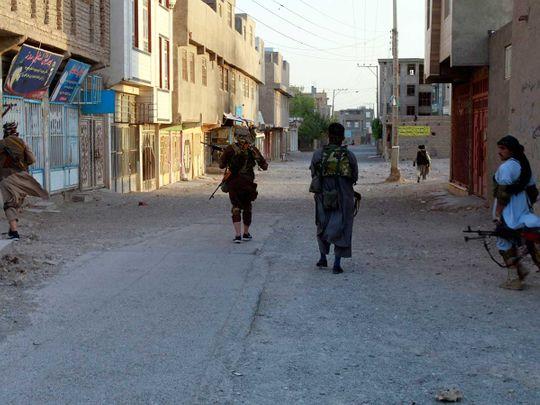 Afghan fighting