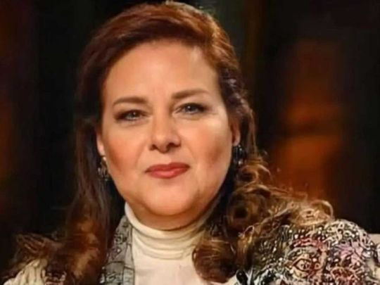 Egyptian actress Dalal Abdulaziz.