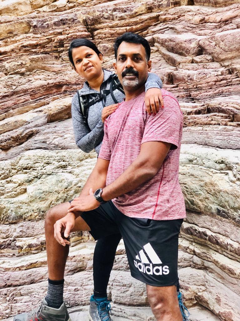 Indian couple who celebrated wedding anniversary In Kilimanjaro 5-1628346104029