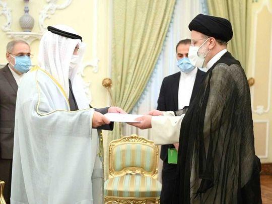 Kuwait foreign minister Ebrahim Raisi