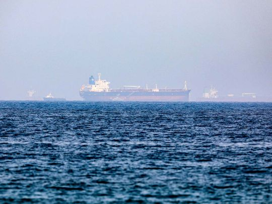 Mercer Street, an Israeli-managed oil tanker that was attacked in the Arabian Sea