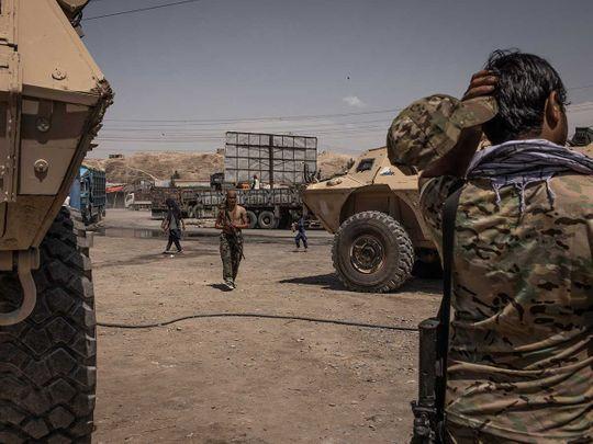 Afghan commandos Taliban Kunduz