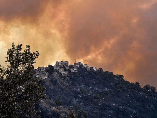 210810 Algeria fires
