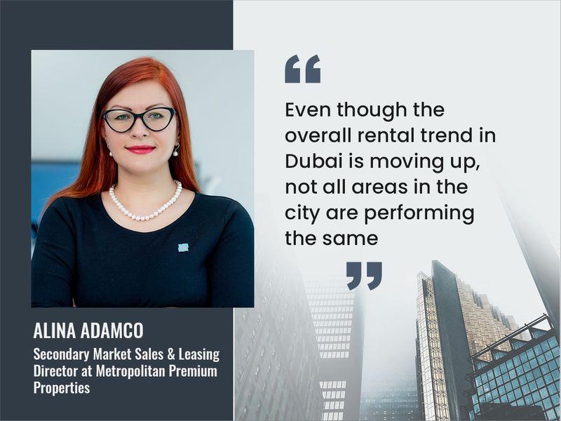 Alina Adamco, Secondary Market Sales & Leasing Director at Metropolitan Premium Properties