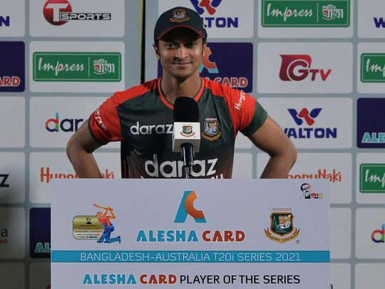 Cricket - Shakib Al Hasan