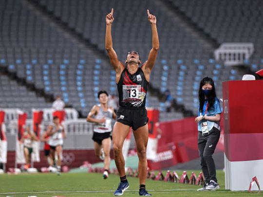 Egyptian Ahmed El Gendy wins silver in the Olympic men's modern pentathlon