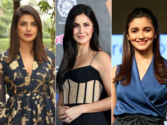 Priyanka Chopra, Katrina Kaif and Alia Bhatt
