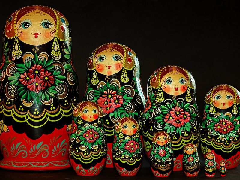 russia matryoshka dolls