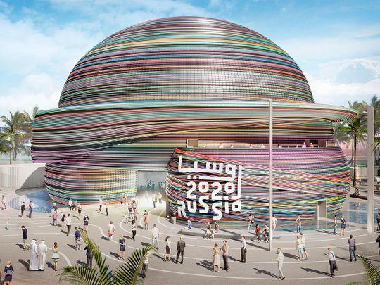 russia pavilion expo 2020 dubai