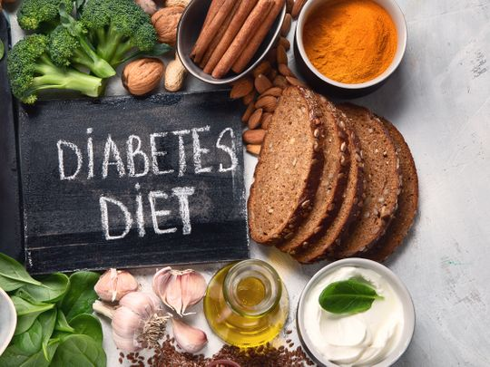 It's important to have the right diet to tackle diabetes