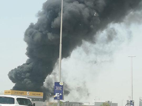 JAFZA fire