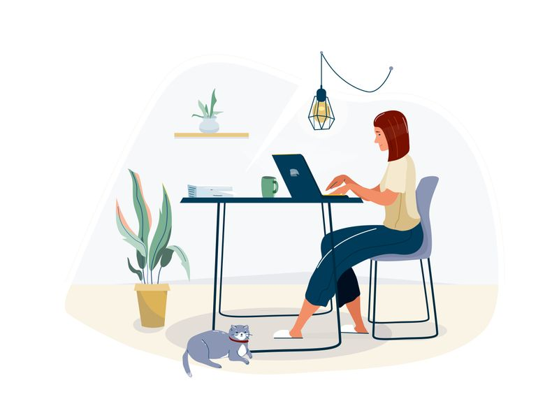 Working from home and snacking habits