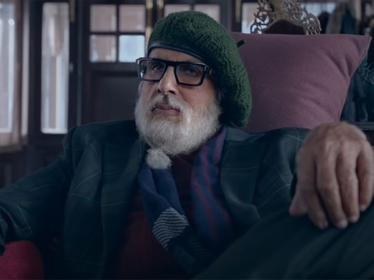 Amitabh Bachchan in the trailer for 'Chehre'