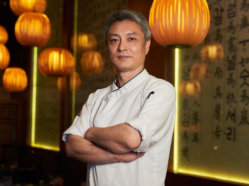 Chef Seung-Joon Lee, Executive Sous Chef at Asiana Hotel, Dubai