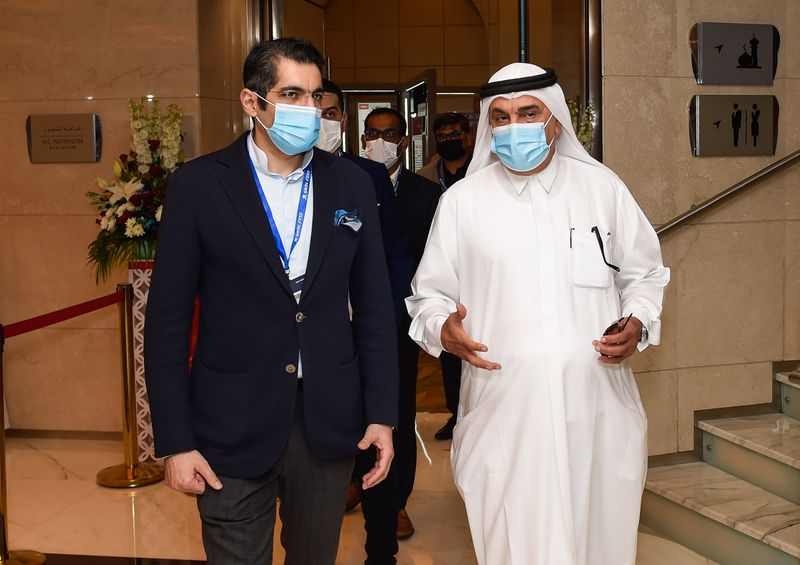 Indian CG with Gulf News CEO