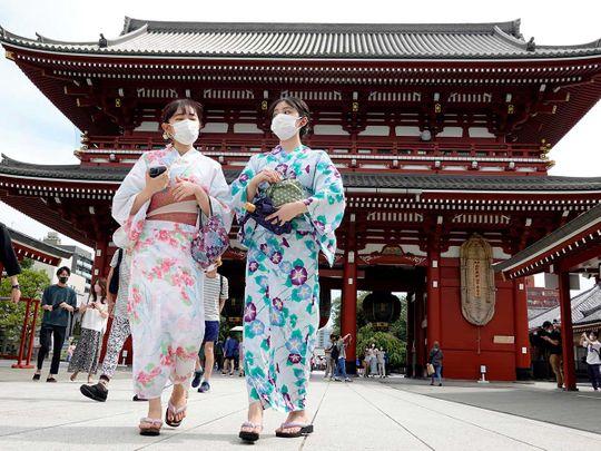 Japan covid temple