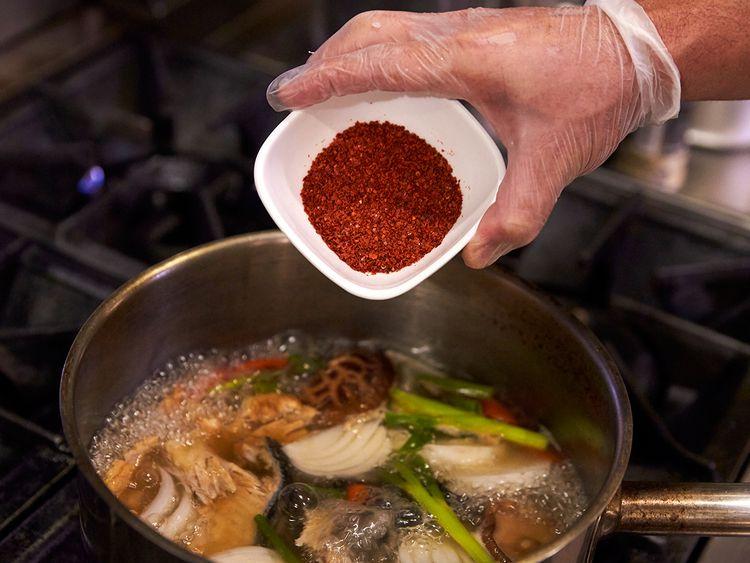 korean seafood hotpot