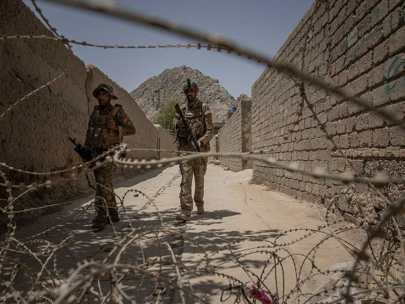 Afghan special forces Kandahar