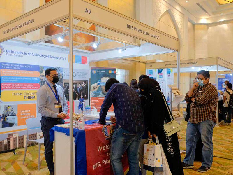Gulf News Edufair day 3 gallery