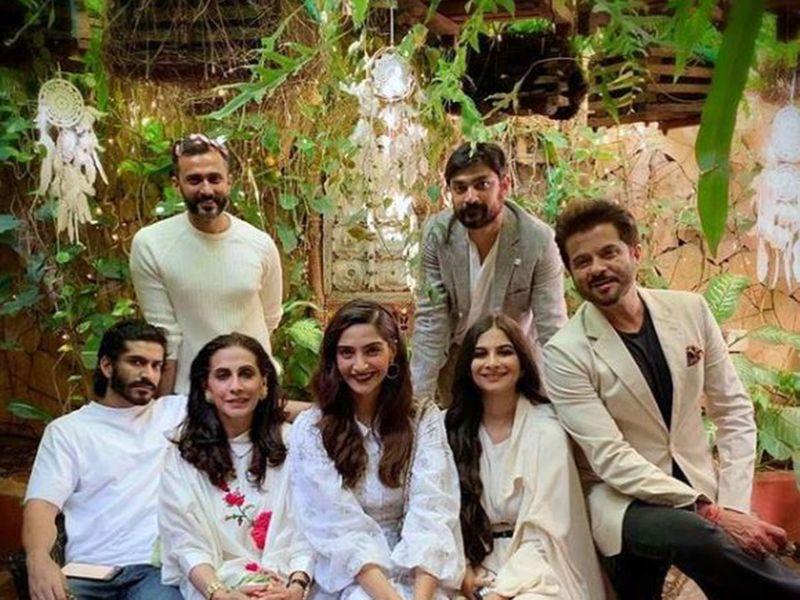 Rhea Kapoor and family