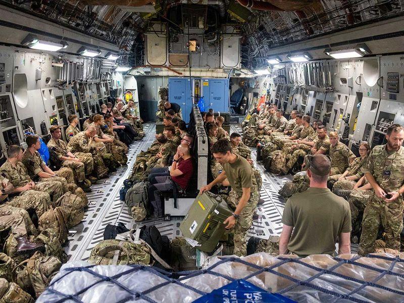 Afghan joint troops